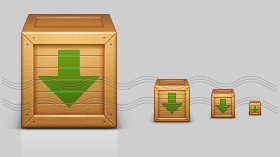Box Download Icon