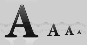 Font Icon, A-Letter