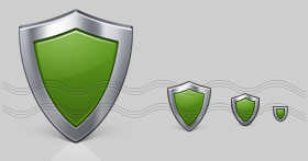 Shield Icon, Security